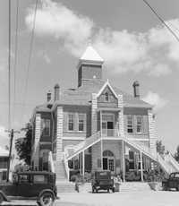 GrimesCountyCourthouseTXDoT1939