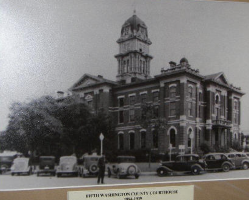 Washington County Courthouse, Brenham, Texas