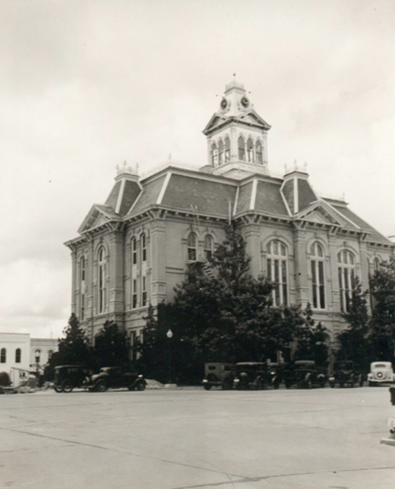 Austin County Courthouse, Bellville, Texas