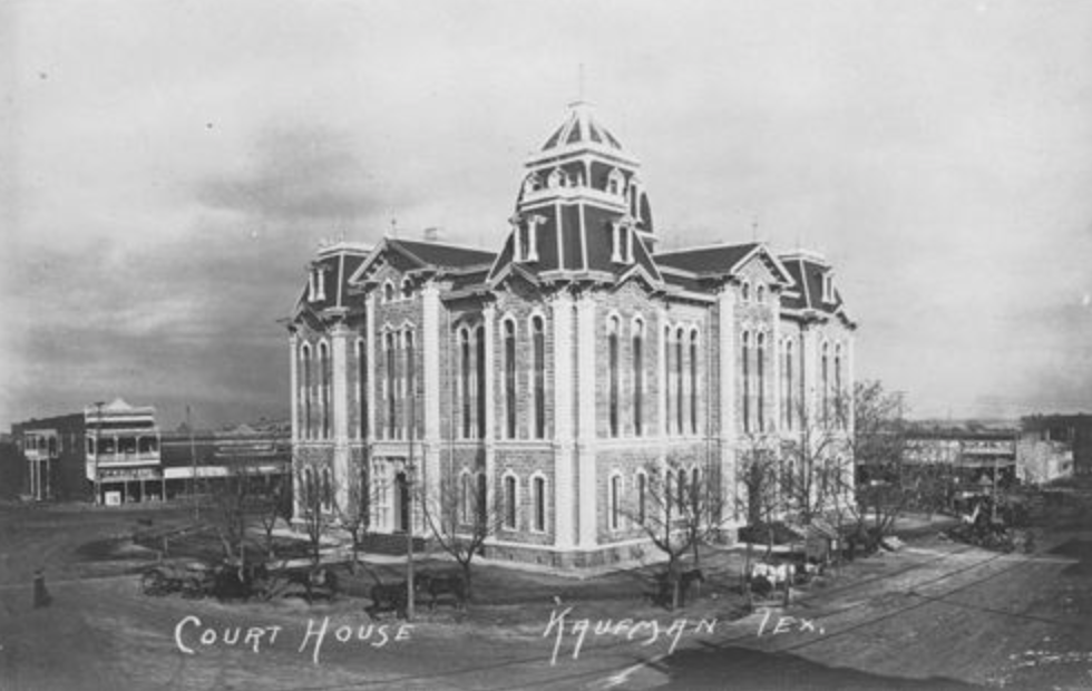 Kaufman County Courthouse, Kaufman, Texas