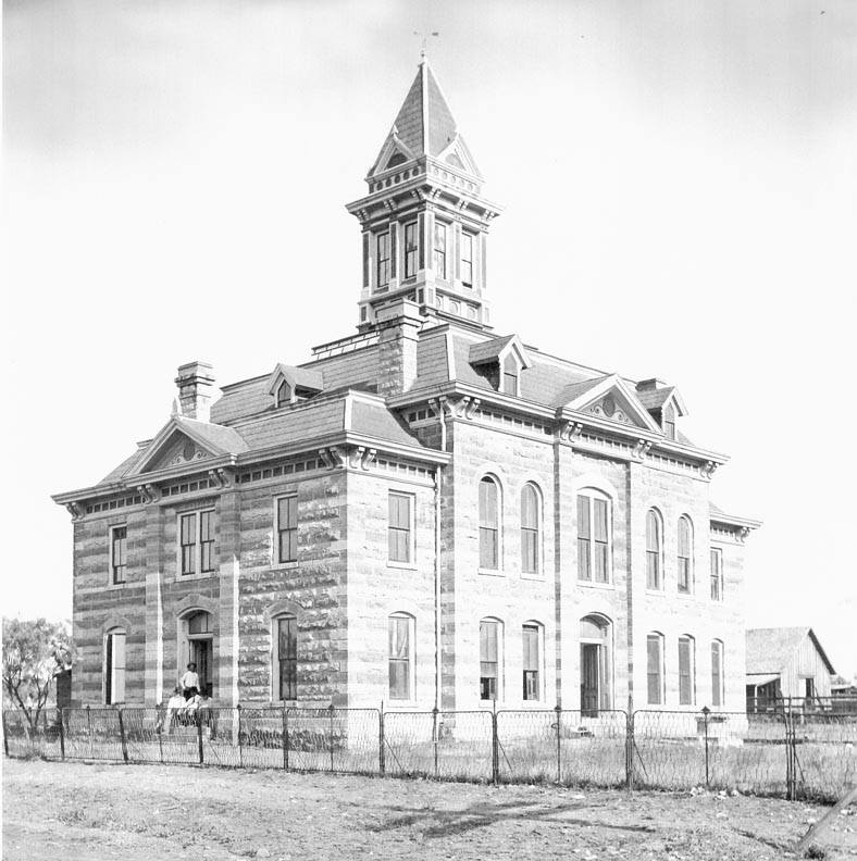 Throckmorton County Courthouse, Throckmorton, Texas