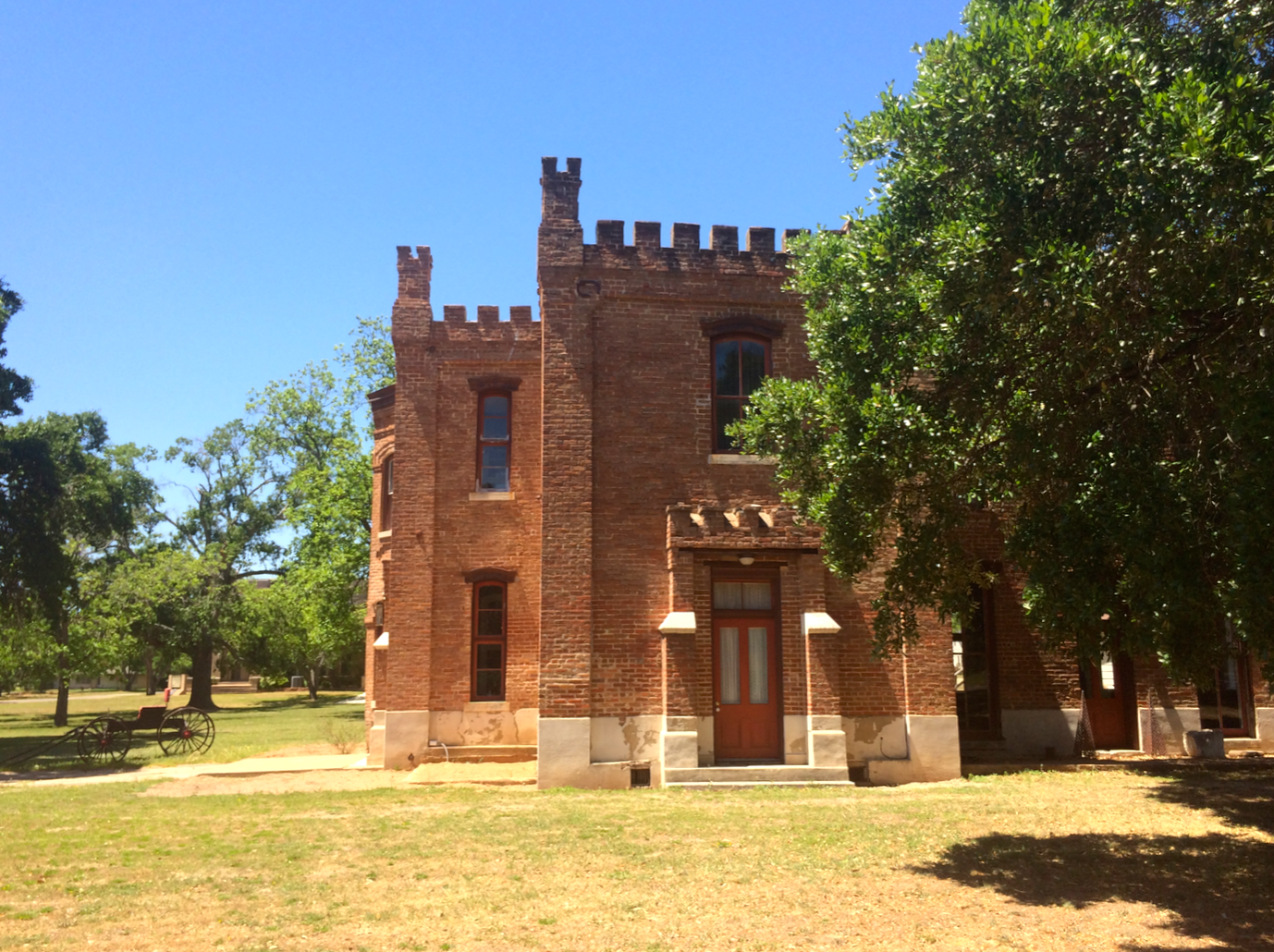 Retired Robertson County Courthouse, Calvert, Texas