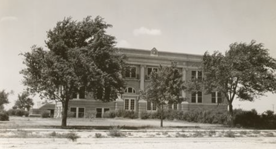 Sherman County Courthouse, Stratford, Texsa