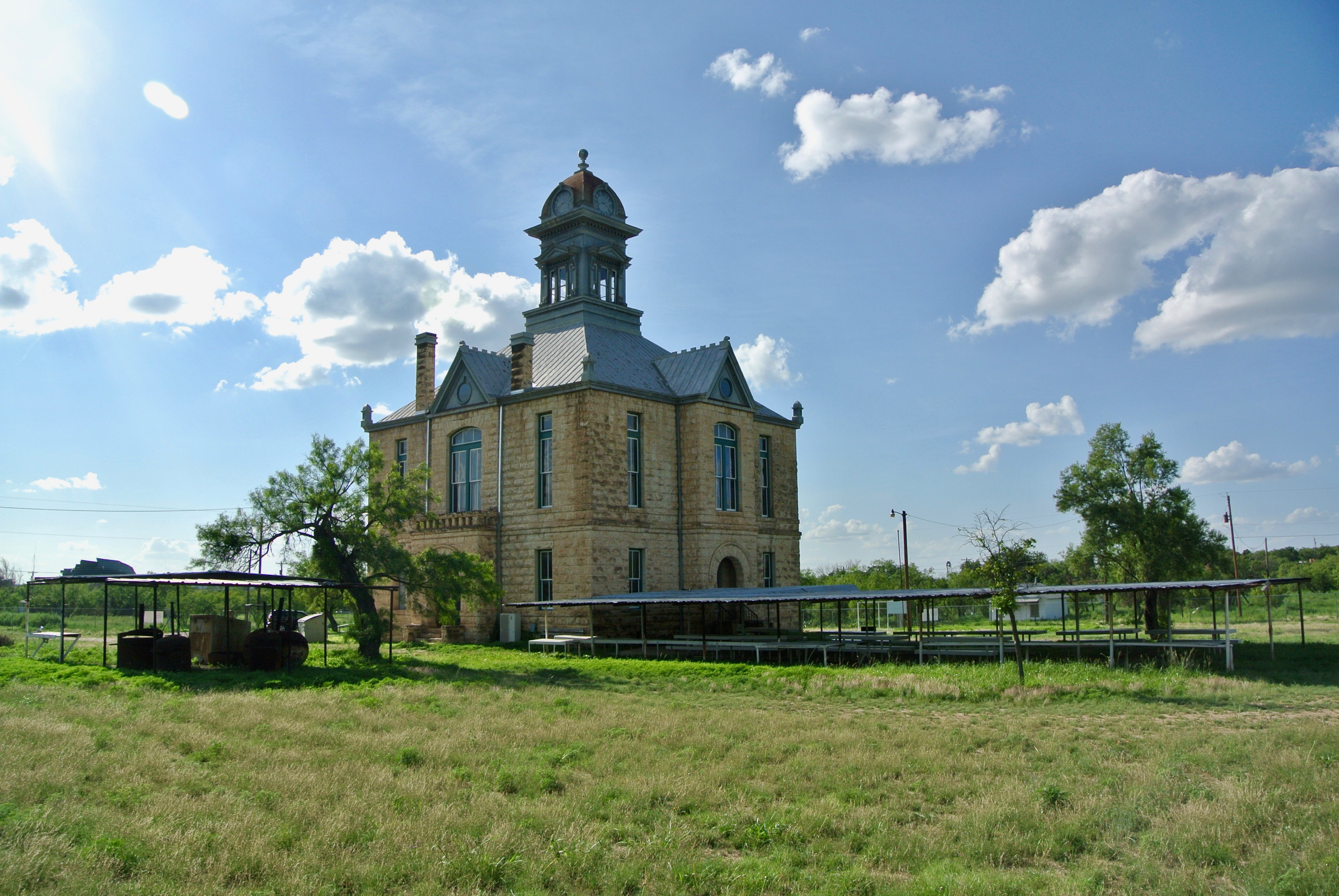 1901 Courthouse Sherwood Ghost Town Sherwood Texas Irion County