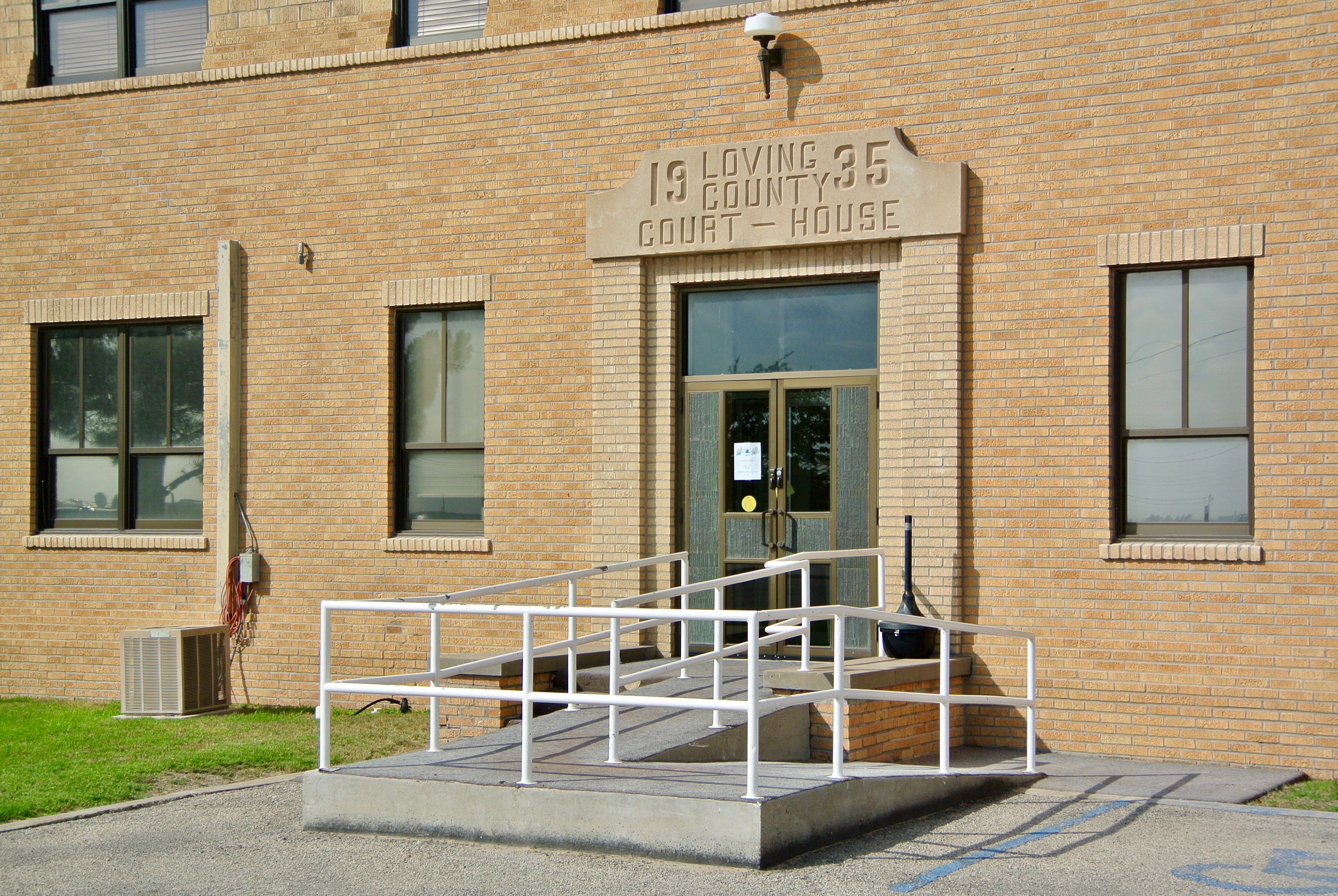 Loving County Courthouse Mentone Texas