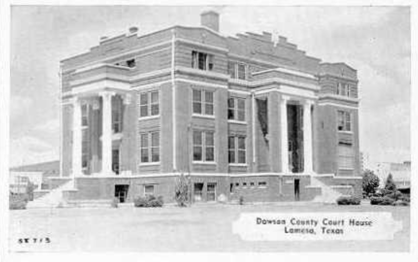 Dawson County Courthouse, Lamesa, Texas