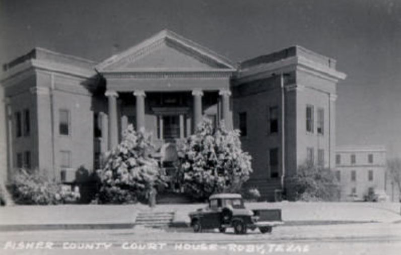 Fisher County Courthouse, Roby, Texas