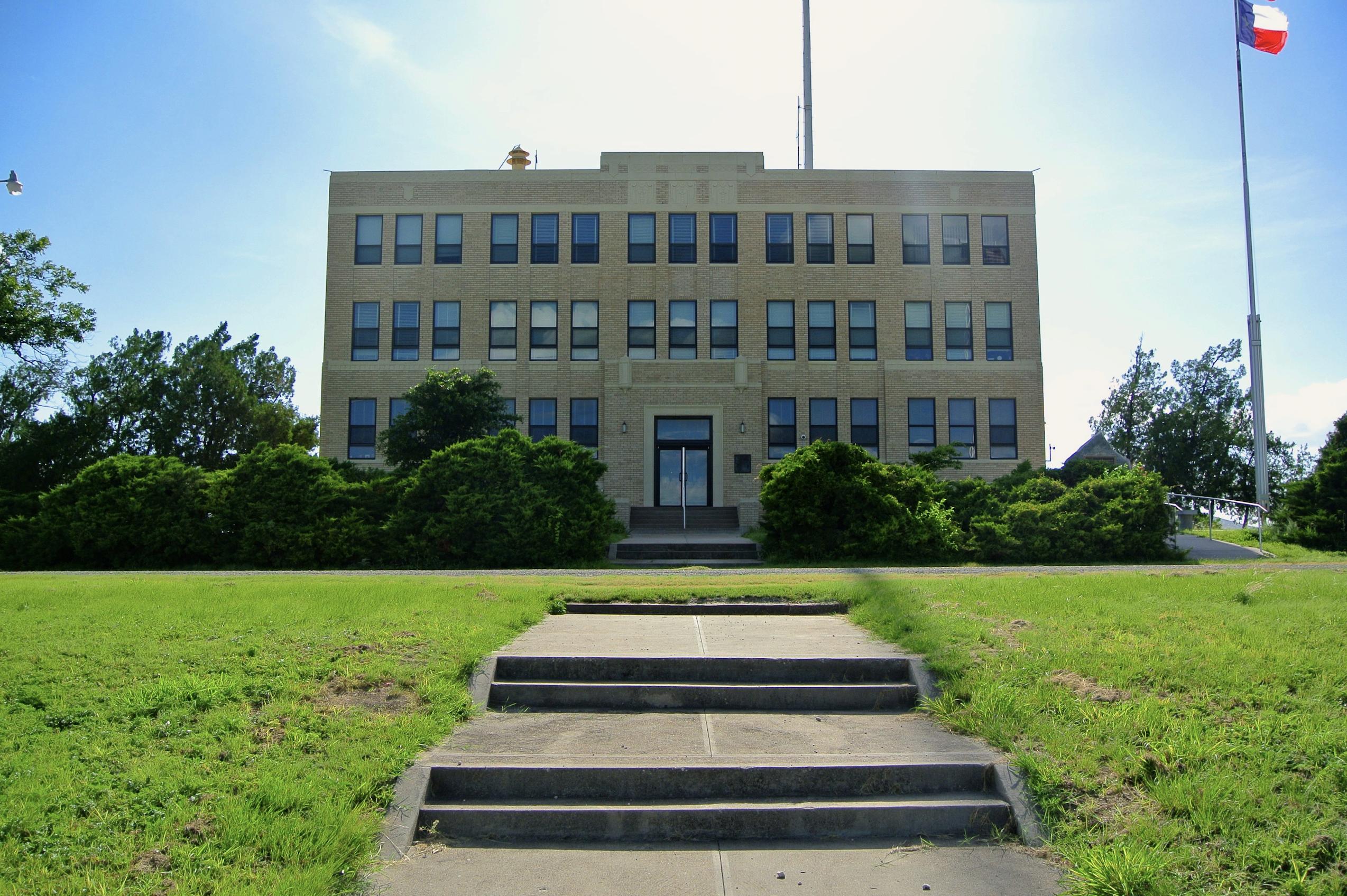 Irion County Courthouse Mertzon Texas