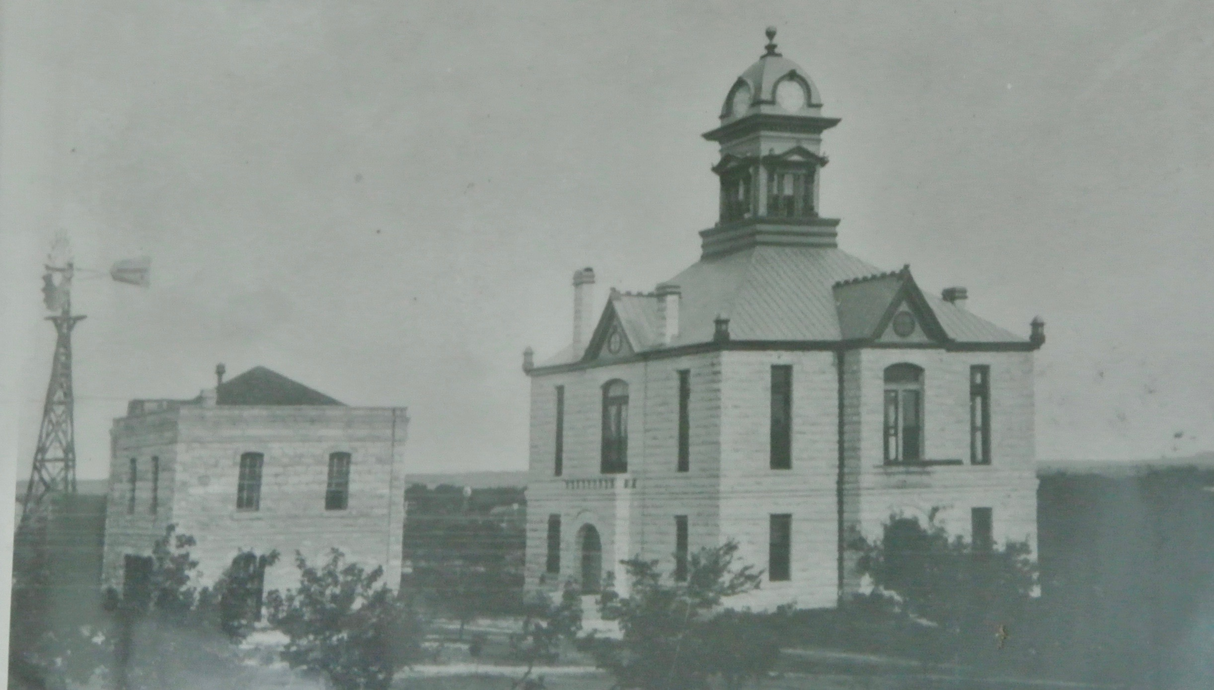 Irion County Courthouse Sherwood Texas 1901