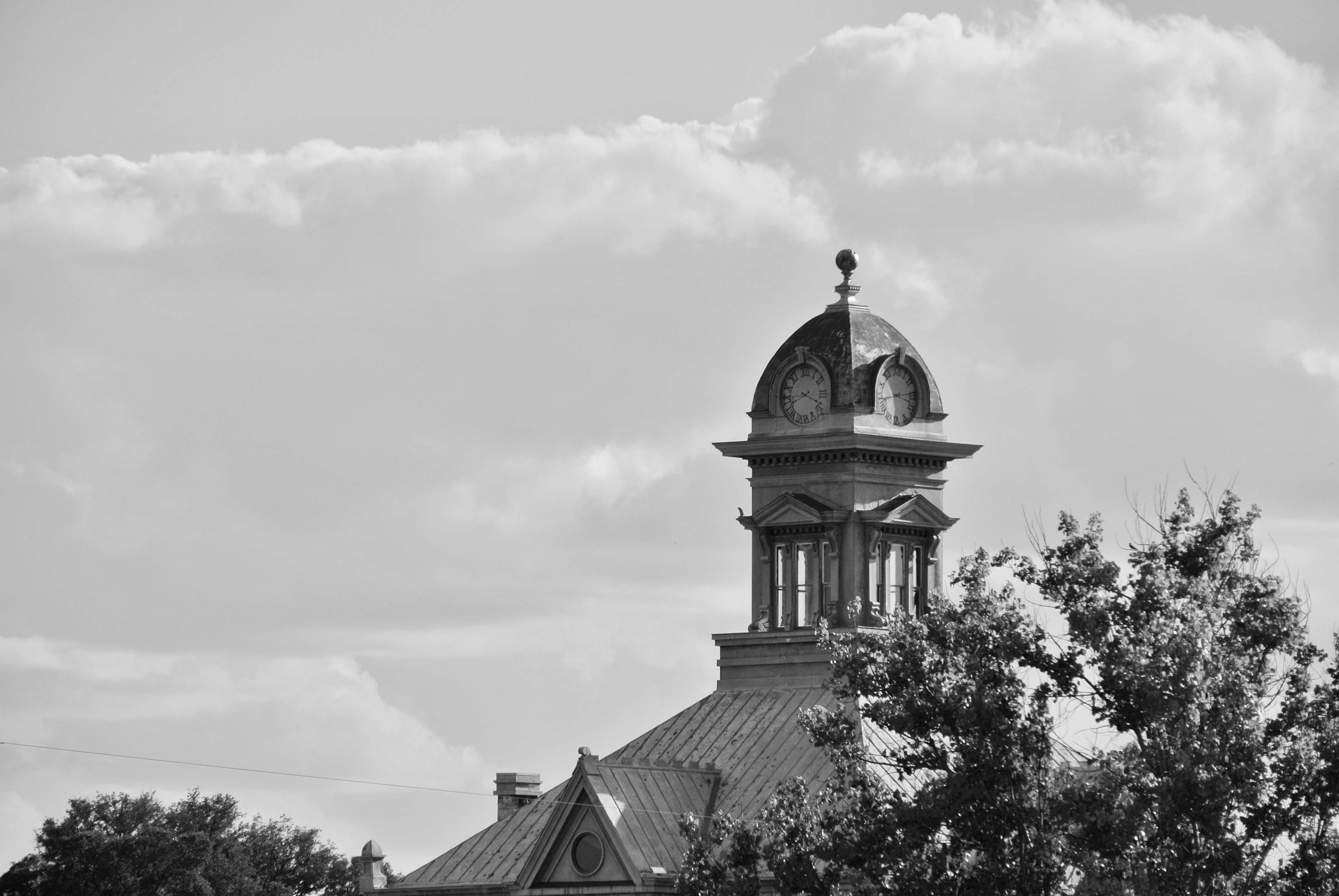 Irion County Courthouse Sherwood Texas
