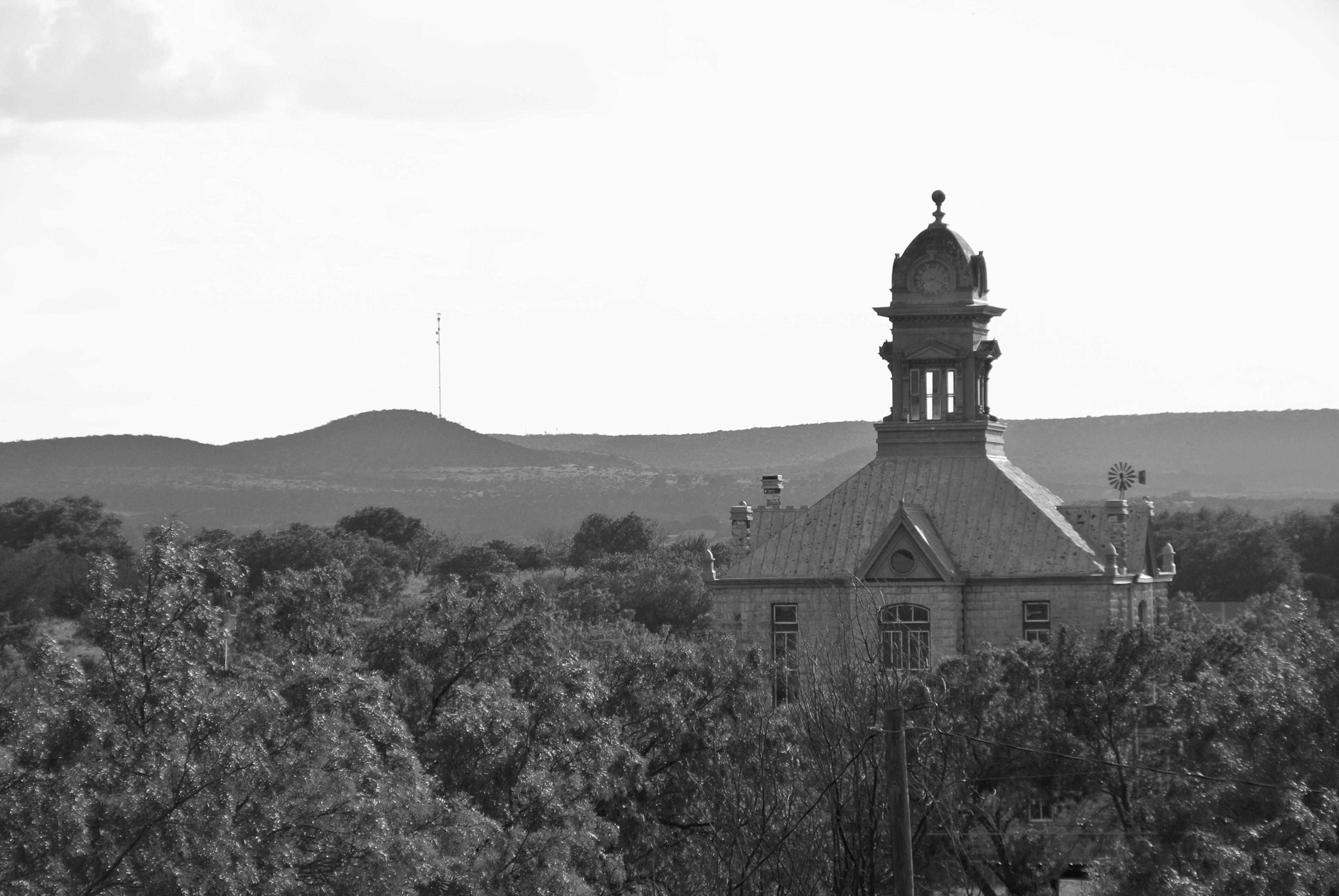 Irion County Courthouse Sherwood Texas