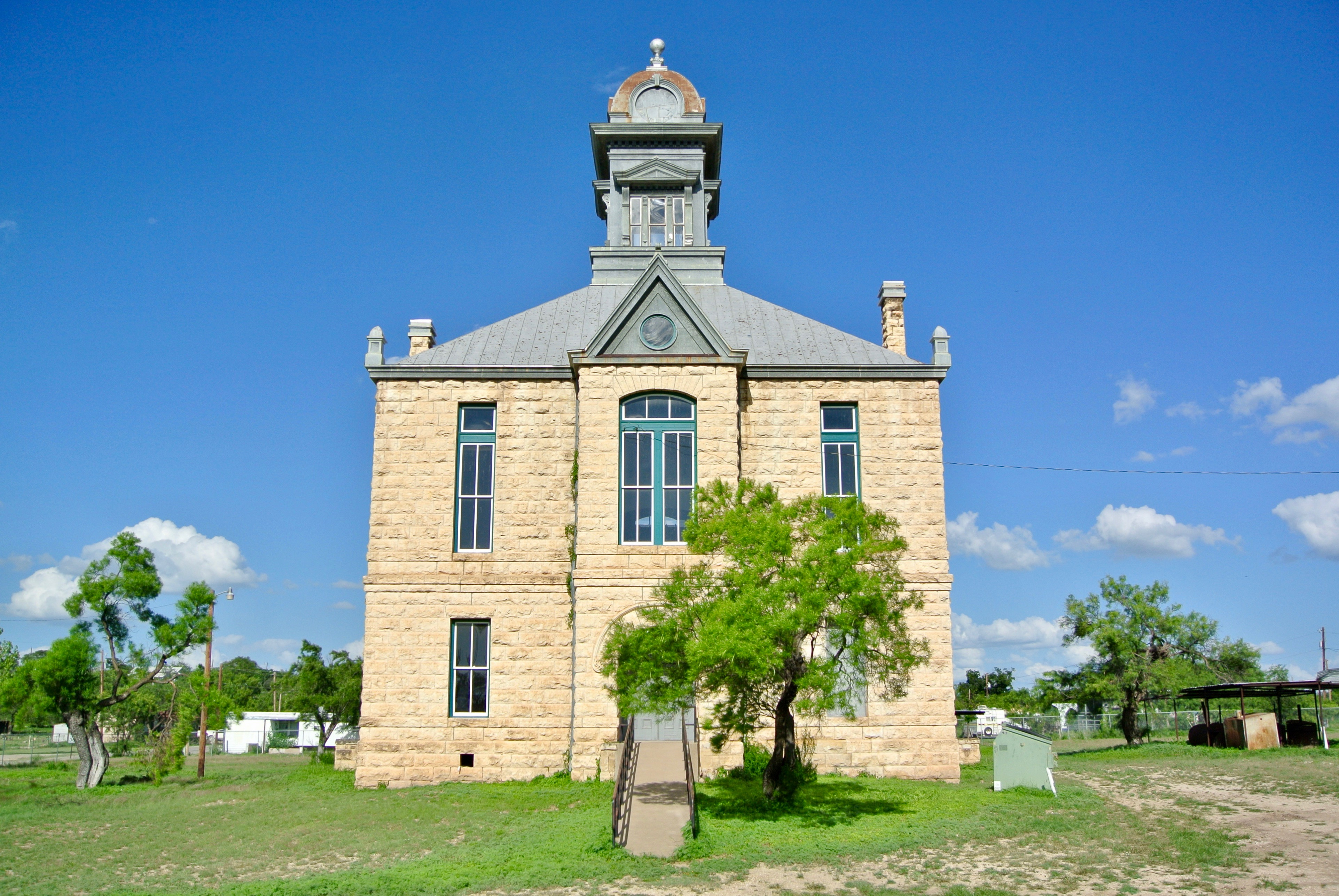 Irion County Courthouse Sherwood