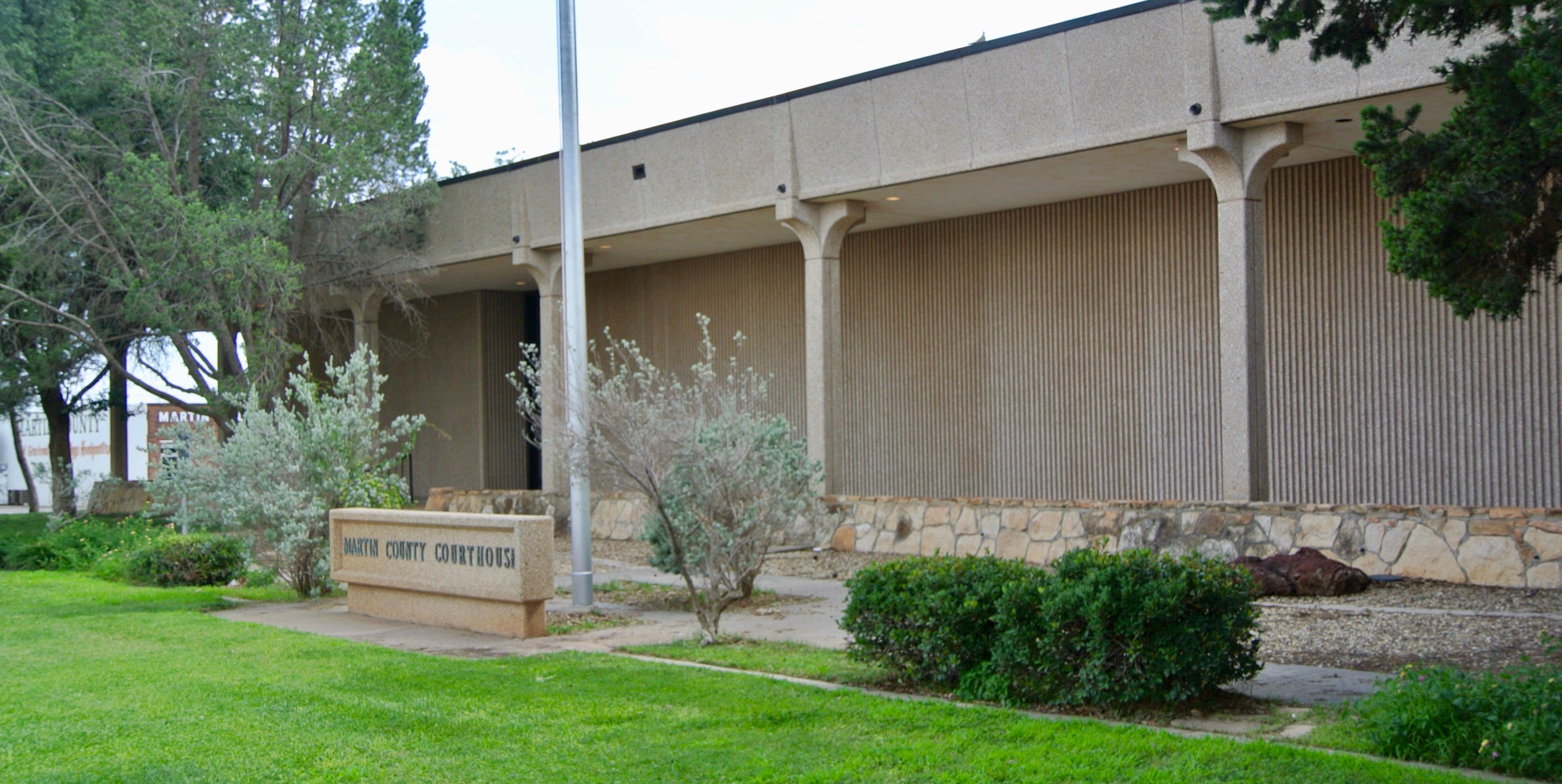 Martin County Courthouse, Stanton, Texas