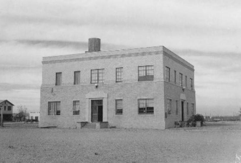 Mentone Texas Loving County Courthouse