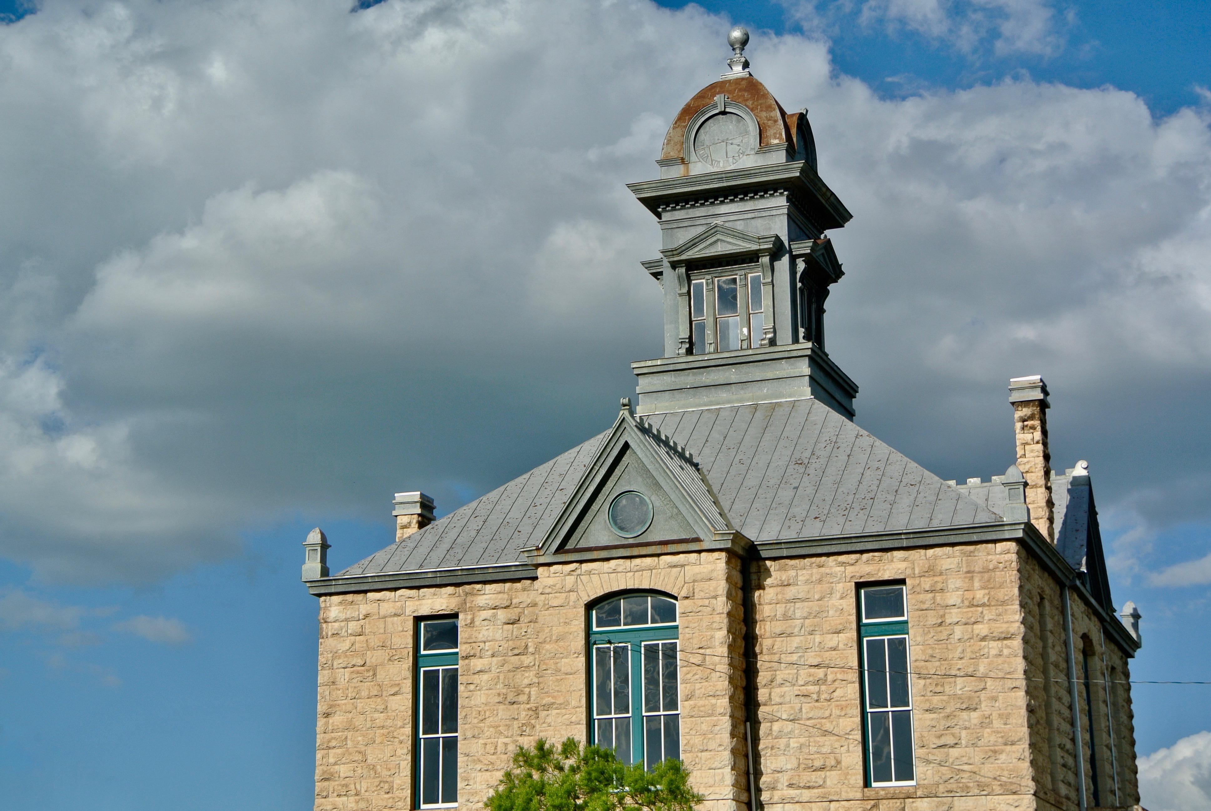 Sherwood Courthouse Irion County Texas
