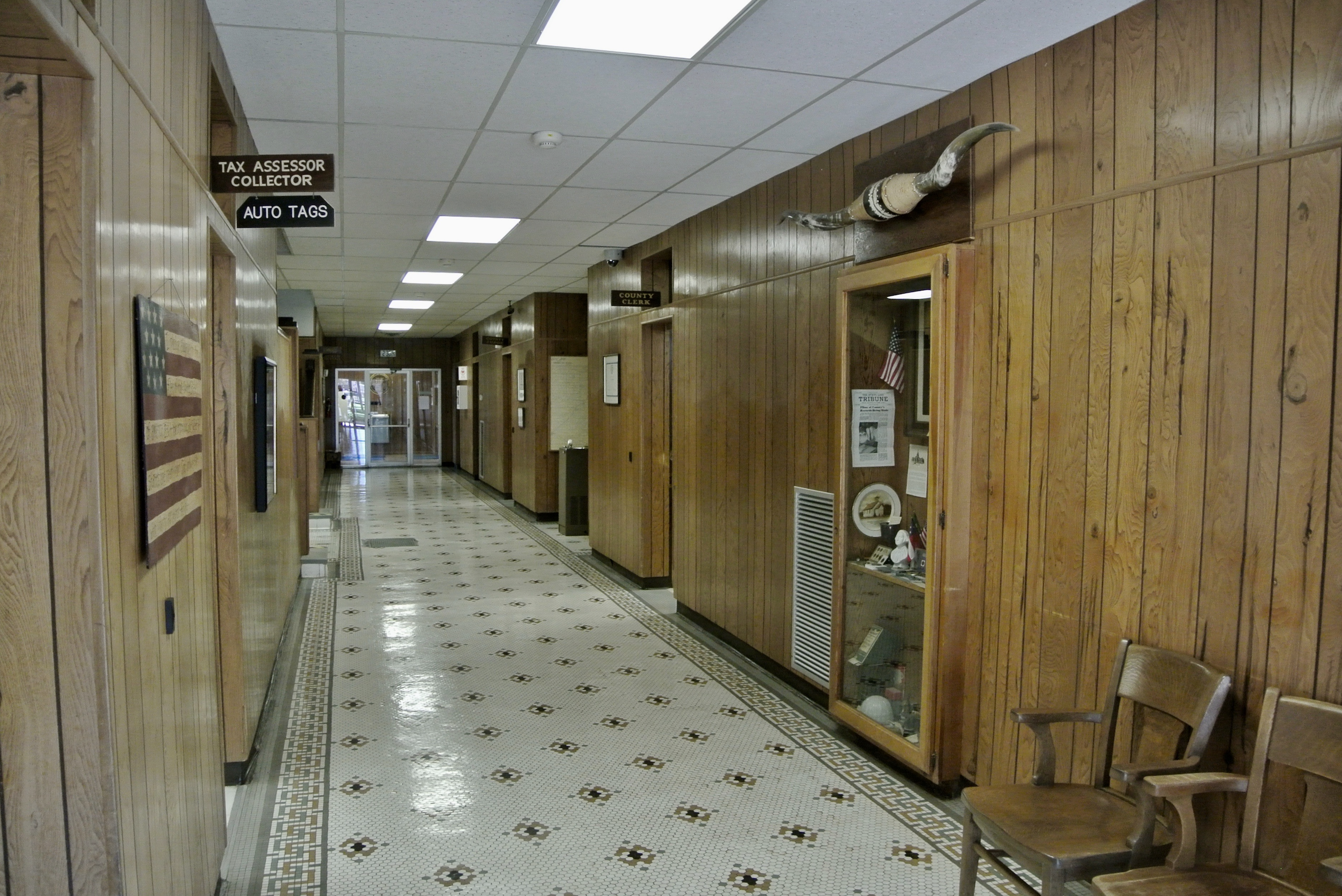 Parmer County Courthouse Interior