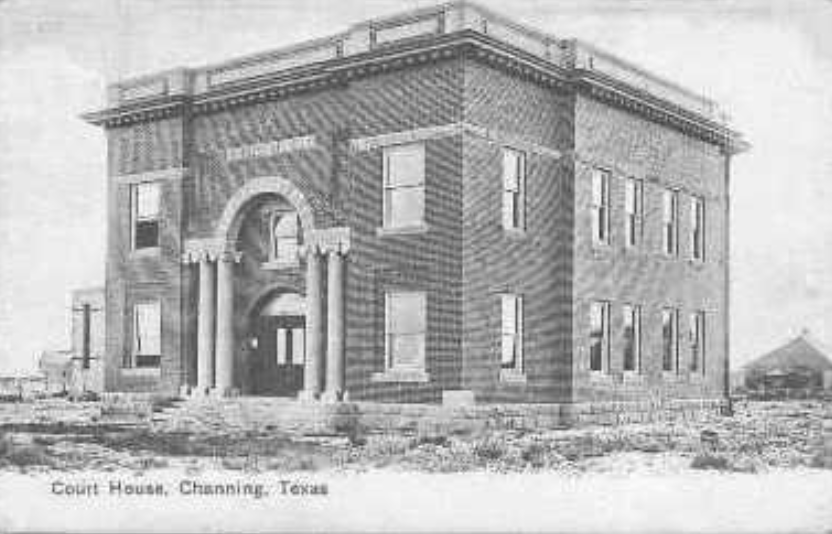 Hartley County Courthouse Channing Texas
